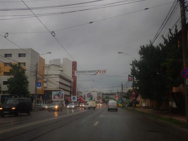Deszczowe Iasi (Jassy) w Rumunii