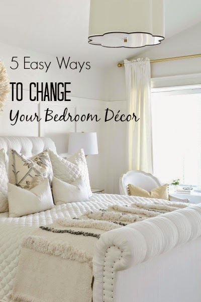 5 Easy Ways To Change Your Bedroom Décor