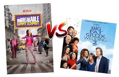 Friday Night Decisions - Kimmy Schmidt vs My Big Fat Greek Wedding 2
