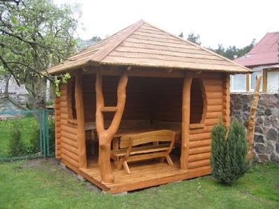 Gasebo kayu
