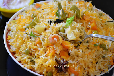 Spicy Vegetable Pulav