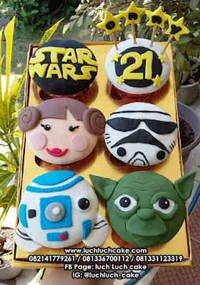 Cupcake Star Wars Surabaya - Sidoarjo