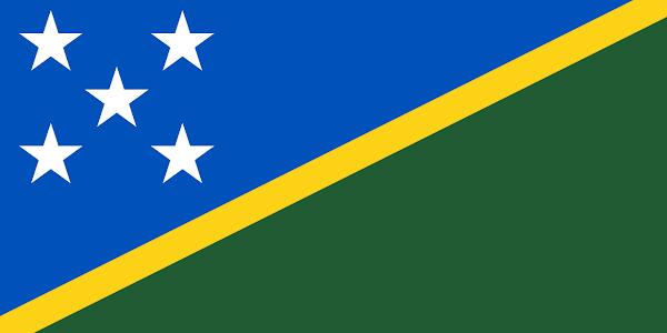 Logo Gambar Bendera Negara Kepulauan Solomon PNG JPG ukuran 600 px