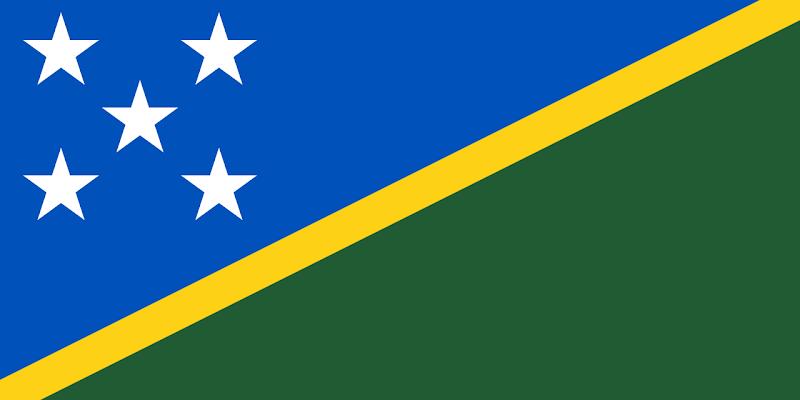 Logo Gambar Bendera Negara Kepulauan Solomon PNG JPG ukuran 800 px