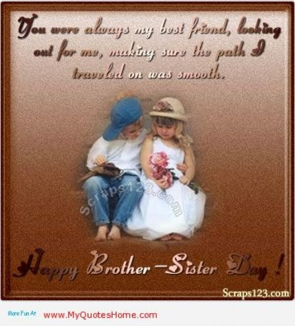 Happy Sister And Brothers Day: Happy Sister Day Quotes. QuotesGram
