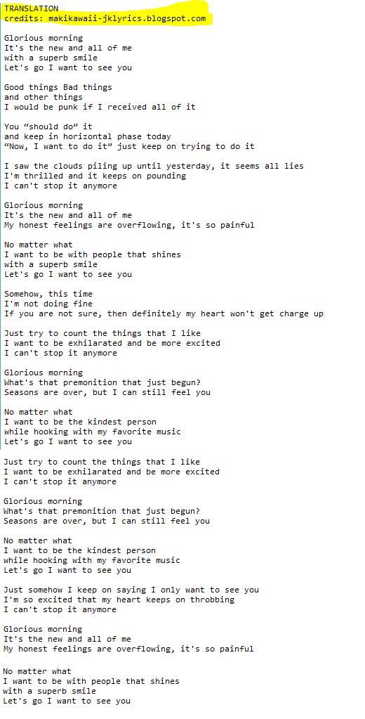 Lyric my most precious treasure lyrics : Random Jpop and Kpop Lyrics + Translations : 2015
