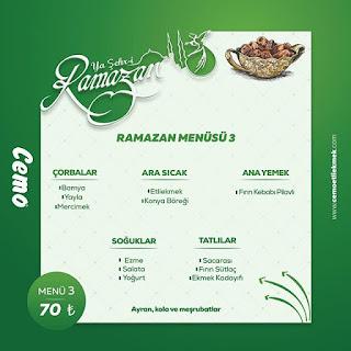cemo etli ekmek konya iftar menüleri ramazan 2019 konya iftar yerleri