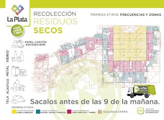 El municipio de La Plata avanza en la recuperacón de residuos reciclables