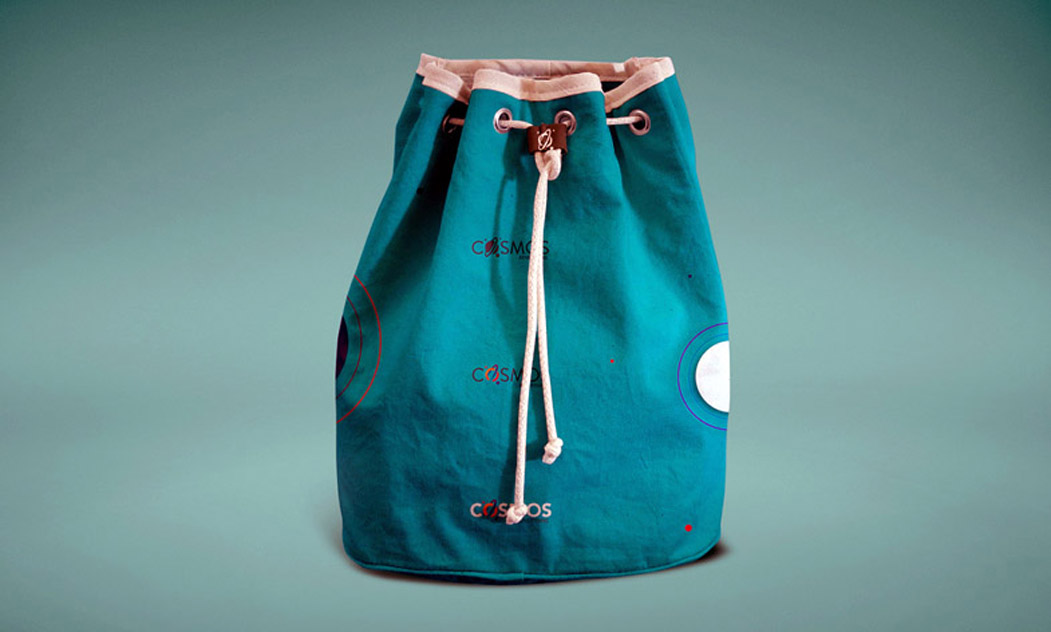 Free Sack Cloth Bag Mockup