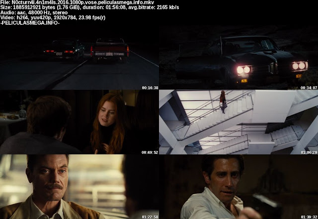 Descargar Nocturnal Animals Subtitulado por MEGA.
