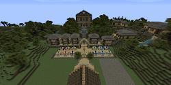 Minecraft Building Ideas: Town Hall