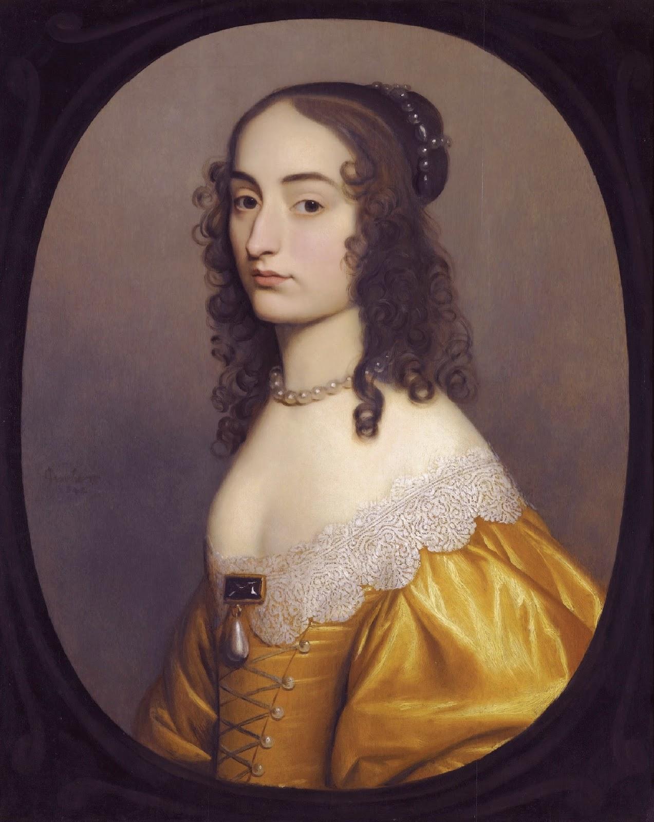 "madame isis' toilette: the 17th century ""spaniel ears"" hairstyle"