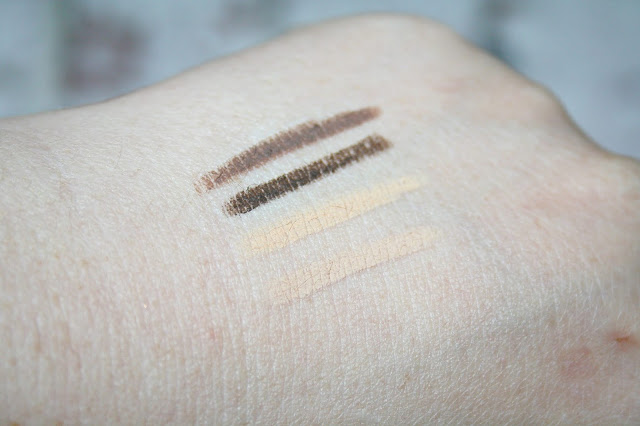 Benefit Cosmetics Brow Contour Pro Swatches