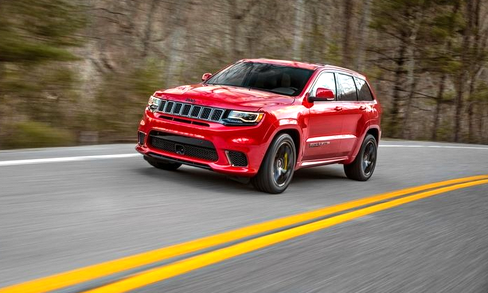Jeep Grand Cherokee Trackhawk Review