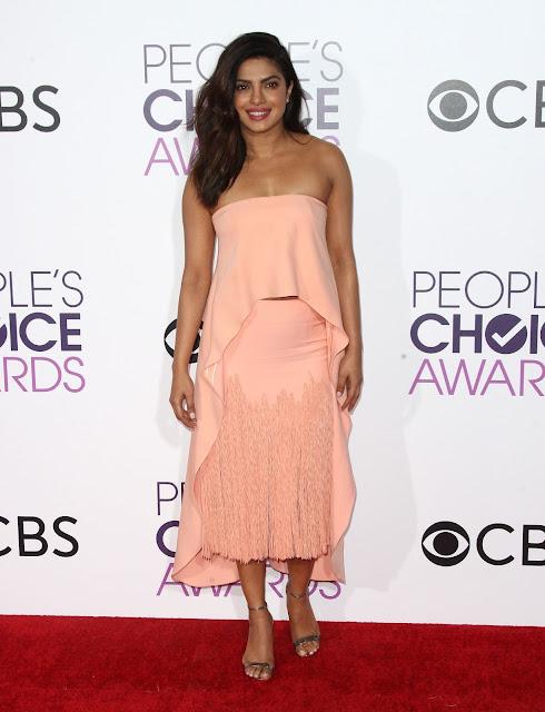 Priyanka Chopra at People's Choice Awards 2017