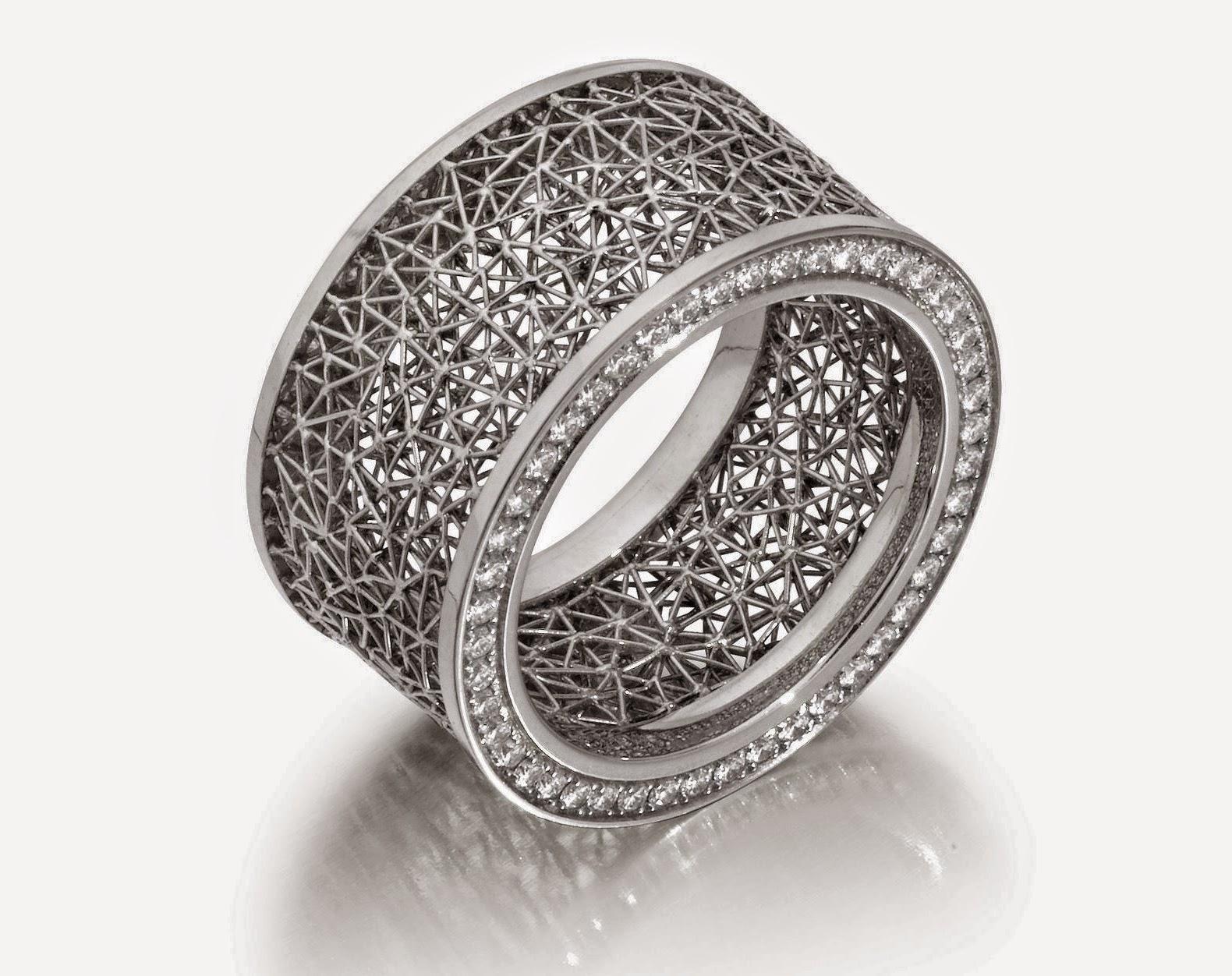 El arte de la orfebrer a y joyer a las joyas de platino for Metal rodio en joyeria