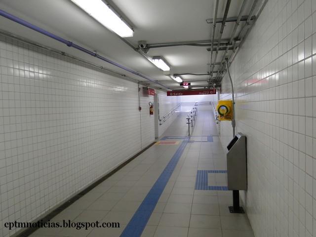 Estação agora conta com acessibilidade total