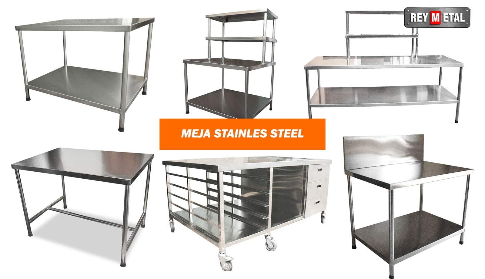 Kitchen set stainless steel di jogja for Harga kitchen set stainless steel