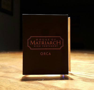Seattle Series: House of Matriarch - Orca (perfume review) + giveaway!