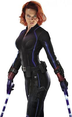 Viúva negra é persanagem preferido de Scarlett Johansson
