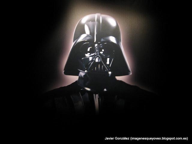 Exposición de Star Wars en Madrid. Darth Vader - Star Wars exhibition in Madrid. Darth Vader