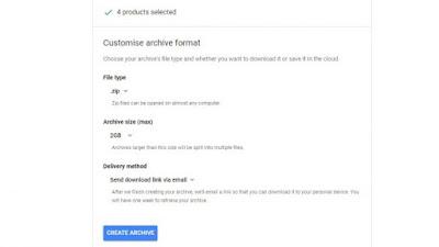 طريقة تحميل بياناتك على جوجل بلس