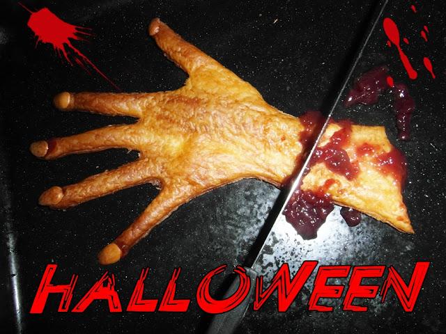 La mano di strega con marmellata