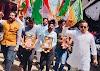 शहीदी दिवस पर मनीष यादव के नेतृत्व में भाजयुमो ने युवा संकल्प यात्रा निकाली