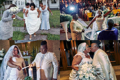 Abomination! Two female pastors tie the knot in the U.S