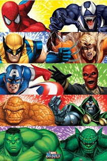 Heroes Of The Marvel Universe