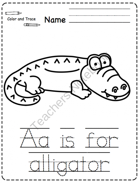 Zoo No Prep Printable ~ Preschool Printables