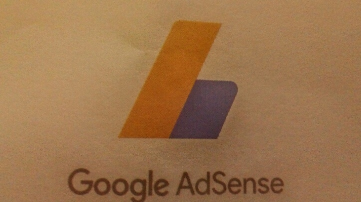Carta do Google Adsense enviada pelo correio