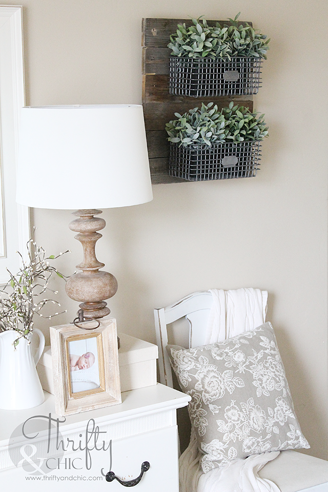 Hanging Photos On Wire thrifty and chic - diy projects and home decor