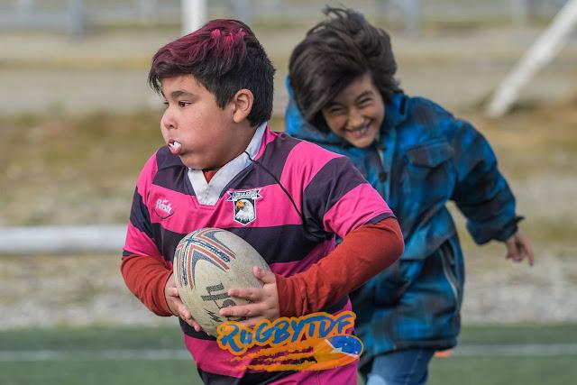 Clínica de Rugby Infantil en Ushuaia