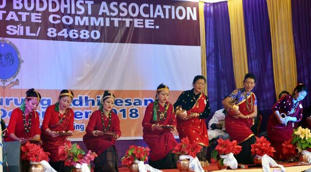 5th Adhiveshan All India Gurung Tamu Buddhist Association at Mungpoo