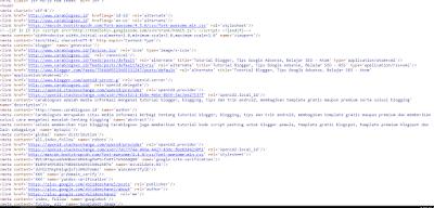Meta Tag Tambahan Untuk Mengoptimalkan Upaya SEO Pada Blog