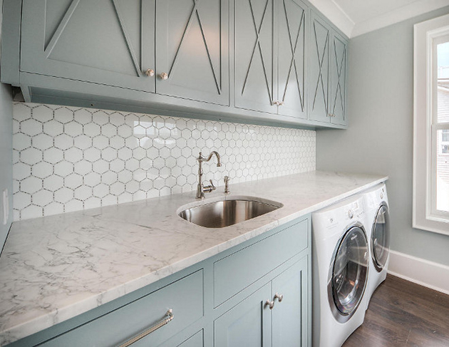 Bricolage Light Blue Cabinets