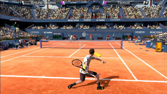 Virtual Tennis 4 PC Full Version Screenshot 1
