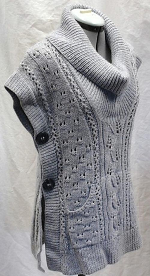 Tabard Vest - Free Pattern