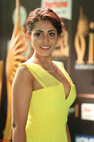 Madhu Shalini Looks Super Cute in Neon Green Deep Neck Dress at IIFA Utsavam Awards 2017  Day 2  Exclusive (34).JPG