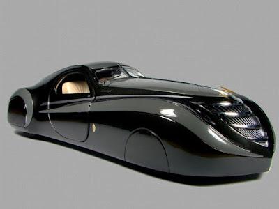 Duesenburg Coupe Simone Midnight Ghost black look