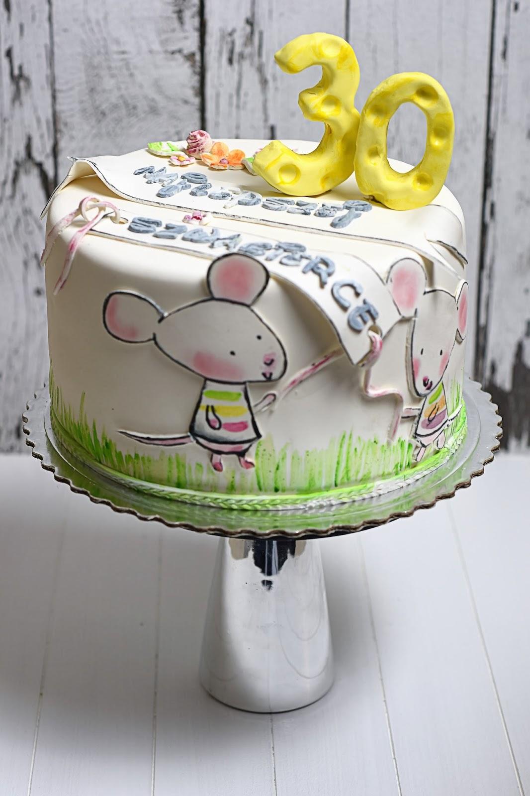 Tort Urodzinowy Z Myszkami Kulinaria Zblogowani