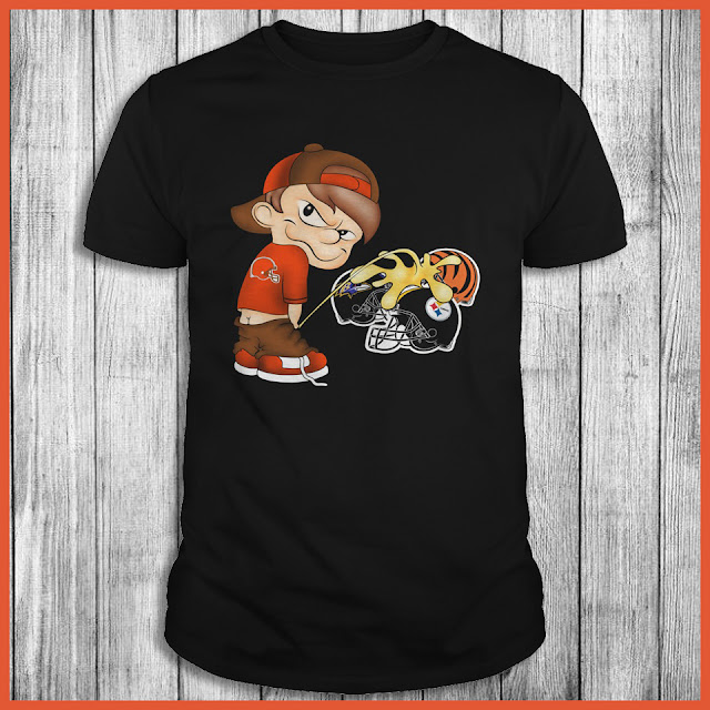 Cleveland Browns Piss On The Steelers, Bengals, Ravens Shirt