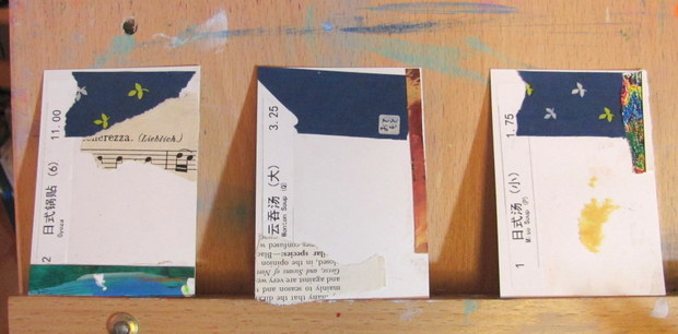 beginning ATC cards for Reduce, Reuse, Recycle Swap