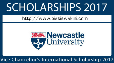 Vice Chancellors International Scholarships 2017