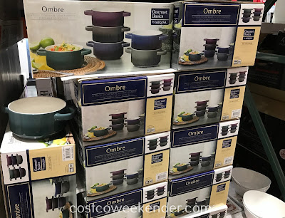 Costco 1135537 - Gourmet Basics by Mikasa Ombre Soup Bowl Set: great for soup or cereal