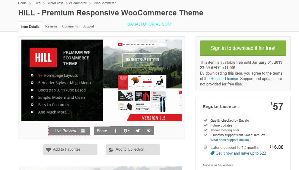 Template Premium Wordpress Gratis Terbaru 2018