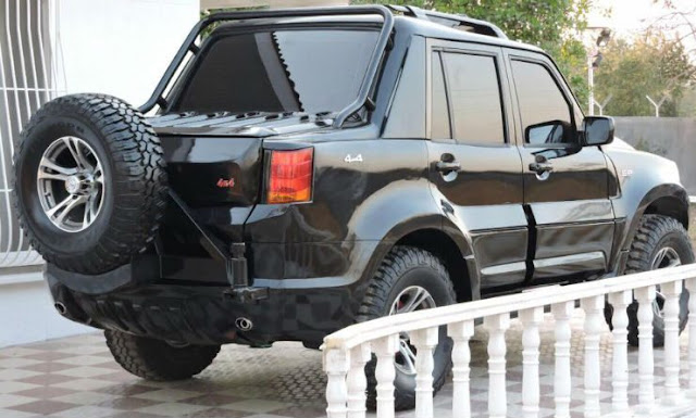 Modified Mahindra Scorpio SP Design Concept