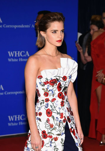 emma watson best red carpet dresses 2016 white house correspondents dinner