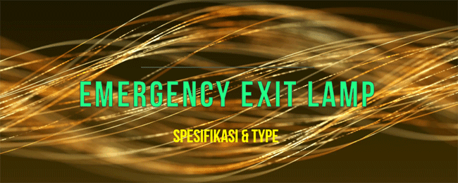 Emergency Exit Lamp